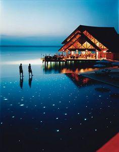 Pool, Maldivas