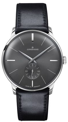 962a9da1775f Junghans Meister Hand-Winding Sunray Anthracite Grey Dial 027 3503.00  ( 1