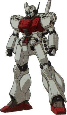 RGM-89D Jegan D Type (Versione iniziale) - Federazione Terrestre e Londo Bell (Manga: Mobile Suit Gundam U.C. 0094: Across The Sky. Gundam Unicorn - Mobile Suit Variations. OVA: Mobile Suit Gundam Unicorn.)