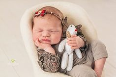 Reindeer toyphoto propsPhotographerBaby by PITTAphotoprops on Etsy