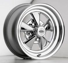 CRAGAR Cragar Rally II 17X9 6X139.7 ET0 Silver w//Mirror Machined Lip Qty of 1