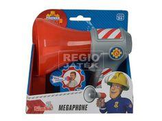 Sam a tűzoltó hangváltoztató megafon