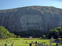 Stone Mountain Park's activities and attractions include a Swiss cable car ride with views from the summit of the mountain, a museum with 12,000-year-old artifacts, hiking trails, fishing, golfing, restaurants, shopping, and festivals and events in every season.