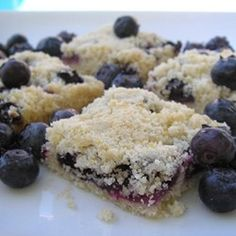 The very best blueberry cobbler recipe I've found! A cakey biscuit ...