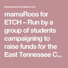 mamaRoos for ETCH – Run by a group of students campaigning to raise funds for the East Tennessee Children's Hospital. Pinned by the You Are Linked to Resources for Families of People with Substance Use  Disorder cell phone / tablet app October 13, 2016;   Android- https://play.google. com/store/apps/details?id=com.thousandcodes.urlinked.lite   iPhone -  https://itunes.apple.com/us/app/you-are-linked-to-resources/id743245884?mt=8com