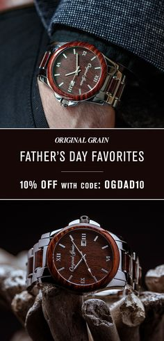 "The perfect gift for Father's Day, take 10% Off with code ""OGDAD10"". Offer valid until Friday, June 16th."