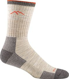 Darn Tough Vermont Mens Merino Wool Micro Crew Cushion Hiking Socks Oatmeal -- Continue to the product at the image link. (This is an affiliate link) Darn Tough Socks, Walking Socks, Mens Outdoor Clothing, Camping Outfits, Camping Clothing, Wool Socks, Fashion Socks, Men Fashion, Darning