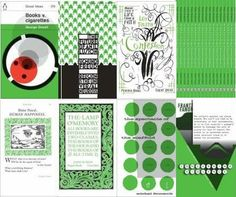 Penguin Typographic Book Covers