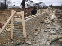 While not exactly preservation, dry stone is for sure an age old craft. This is a project from Northern Kentucky.