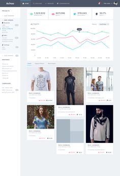 Achoo Ui - Overview Page by Balkan Brothers
