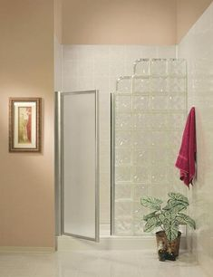 glass block showers without doors | Glass block shower is Stylish and Classy