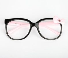 Hello Kitty Fashion Glasses: Pink