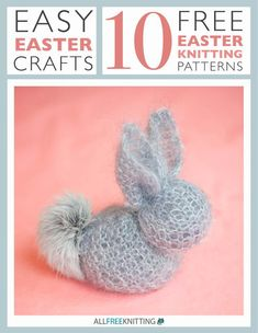 Easter comes around every year, so these are ten knit patterns that are sure to never go out of style. Easy Easter Crafts: 10 Free Easter Knitting Patterns features a great collection of tutorials for knitters of every skill level. With this free eBook, you'll discover how easy it is to make these fun and functional pieces. There's a pattern for everyone - you won't be disappointed.