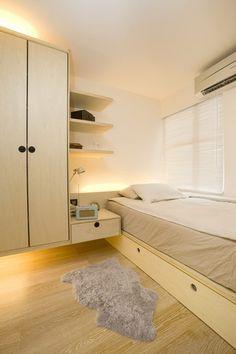 Ingenious Design Solutions in a Cozy 39 Square Meter Apartment