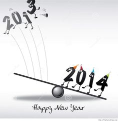 Happy new year 2014 greeting card - Funny Pictures, Awesome Pictures, Funny Images and Pics