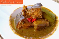 Guyanese fish curry.  Hot, spicy, and oh so satisfying!