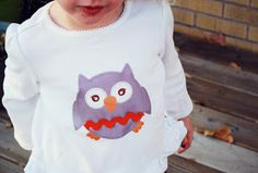 mufn inc: Day 3- DIY Iron On Owl Transfer with FREE PRINTABLE