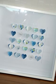 Adorbale baby room decor, subtle but cute!