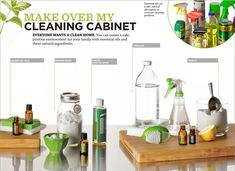 Cambio de imagen al armario de limpieza   -   Make Over My Cleaning Cabinet: Class Ideas