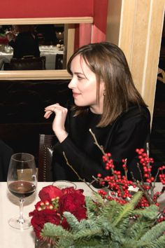 Dakota Johnson attends the Audi Q7 Holiday and Snow Polo Celebration in Aspen last night (December 19).