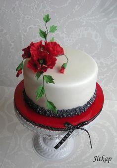 Vlčí máky - Cake by Jitkap