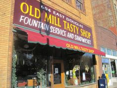 The Old Mill Tasty Shop today.