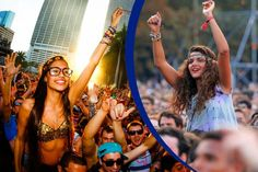Find Out a Perfect Hair and Makeup for a Music Festival, Fashion Times