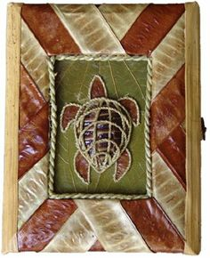 """Koa Seed Pod Honu (Turtle) Box by Alii of Hawaii. $7.99. Size: 5 1/4"""" x 6 3/4"""" x 2"""". Store your jewelry or other keepsakes in one of our boxes made of highly sustainable flora and fauna from the Pacific Region. Handmade, our artisans use various parts of Banana, Bamboo, Coconut and Palm Trees along with Sea Grape, Lauhala Leaves, Haole Koa seed pods, and bark from the Mulberry tree to create these distinctive gifts."""
