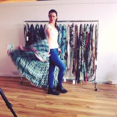 End of the day shenanigans! #HowToWear #SS14
