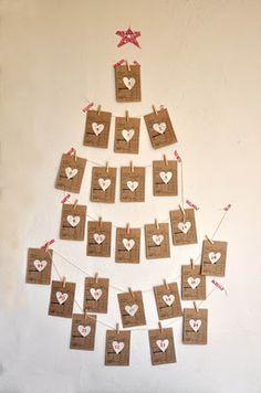 Homemade Advent Calendars {Day 5} Organized Living Solutions