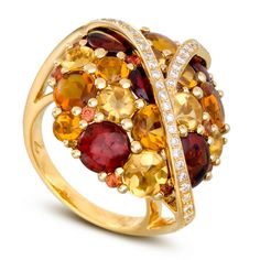 Rosamaria G Frangini | High Colorful Jewellery | CIJ International Jewellery - Ring by Isabelle Langlois
