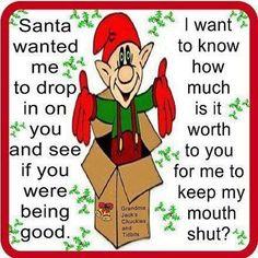 Santa wanted...