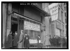 Bundle Day H'dq'rs [i.e., headquarters] (LOC) by The Library of Congress, via Flickr
