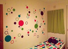 Big girl room - polka dots
