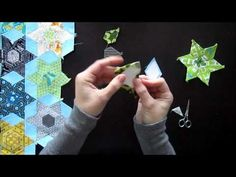 English Paper Piecing - Star Blossoms
