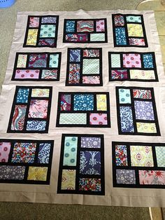 If I could quilt, I would make this...