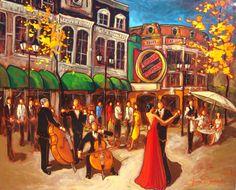 Portfolio - Autres - Claude Bonneau artiste peintre Claude, Les Oeuvres, Fair Grounds, Pastel, Cool Stuff, Heaven, Painting, Beautiful, Canvas