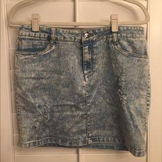 Jean skirt Jean skirt super soft and forgiving Skirts Mini