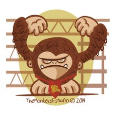 El mono mas popular de los videojuegos Donkey Kong