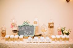 A coffee and cocoa bar is a unique idea for your wedding reception. Would be perfect for a winter wedding! Styled by Jen Rios Weddings / Photography by Tucker Images