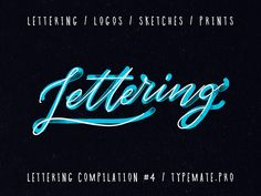 "Check out my @Behance project: ""Lettering compilation #4"" https://www.behance.net/gallery/52183629/Lettering-compilation-4"