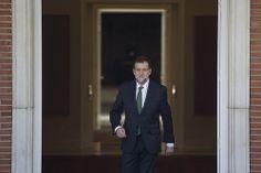 Visita de Durao Barroso 09/04/2014 Madrid, España El Presidente del Gobierno, Mariano Rajoy recibe en la Moncloa al Presidente de la comisión Europea, Jose Manuel Durao Barroso Fotografía: Diego Crespo / Moncloa Presidencia del Gobierno