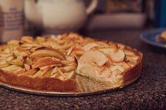 Tarte de maçã cremosa