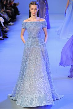 Elie Saab | Spring 2014 Couture Collection | Style.com [Photo by: Yannnis Vlamos/Indigitalimages.com]