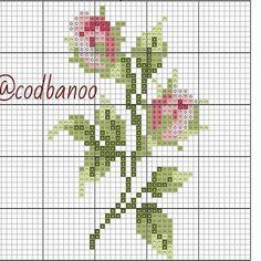 Just Cross Stitch, Cross Stitch Borders, Cross Stitch Flowers, Cross Stitch Kits, Counted Cross Stitch Patterns, Cross Stitch Designs, Cross Stitching, Cross Stitch Embroidery, Pixel Crochet