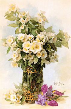 Paul de Longpré - Spring No. 5, c.1896