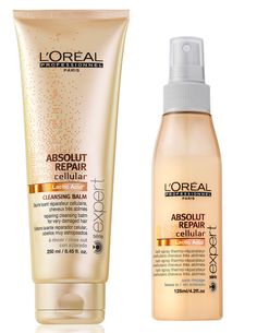 Absolute cleansing balm & blow dry spray