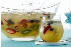This non-alcoholic Fizzy Punch is perfect if you're hosting a New Years party with kids! http://www.rewards4mom.com/new-years-kid-friendly-sample-menu/