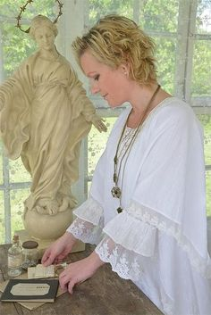 From Jeanne d Arc Living:  Magazine, Books and Products, Clothing & Accessory line.