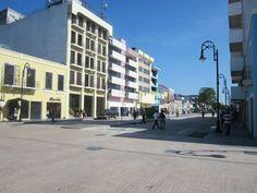 Zona remodelada en el centro historico de Villahermosa, Tabasco, Mex.